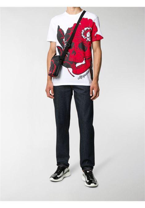 T-shirt bianca ALEXANDER McQUEEN | T-SHIRT | 626674QPZ590900