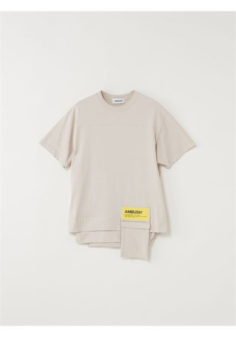 Beige t-shirt AMBUSH |  | BMAA004F20JER0016100