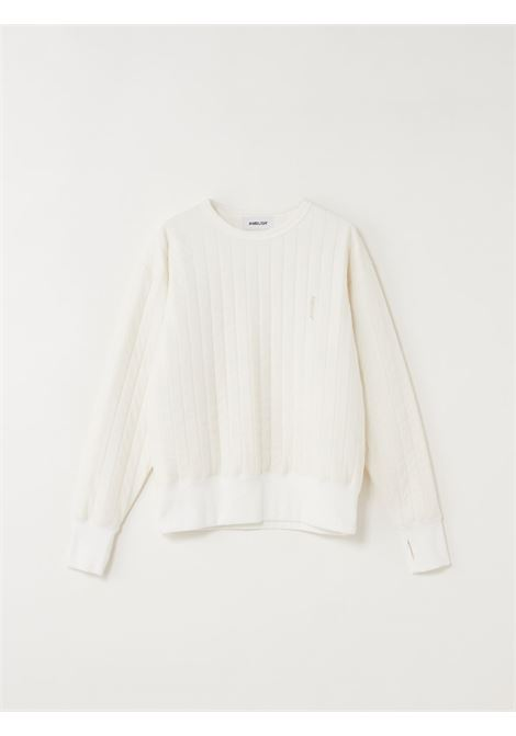 White jumper AMBUSH |  | BMBA001F20FAB0010200