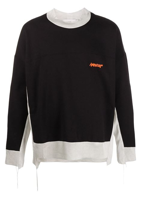 Black/white sweatshirt AMBUSH |  | BMBA002F20FLE0014662