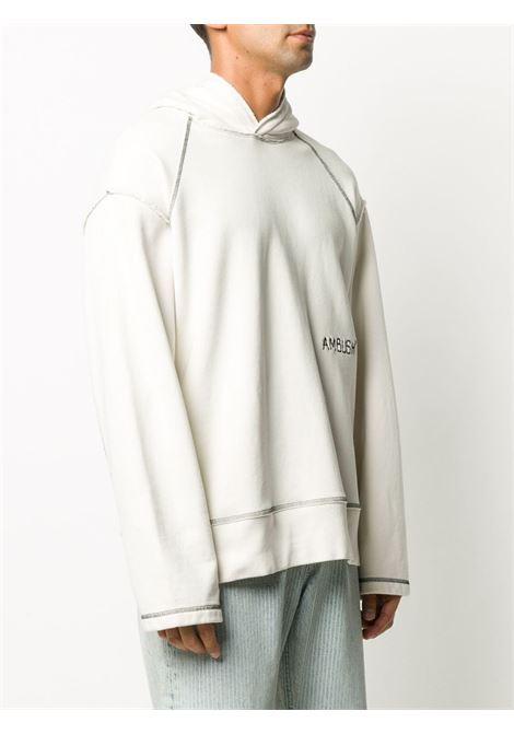 Felpa bianca AMBUSH | FELPE | BMBB001F20FLE0010202
