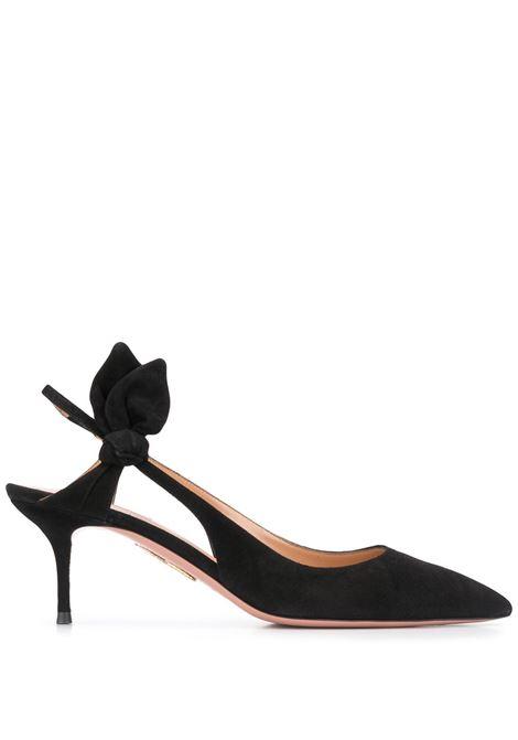Black shoes AQUAZZURA | PUMPS | DRWMIDP0SUE000