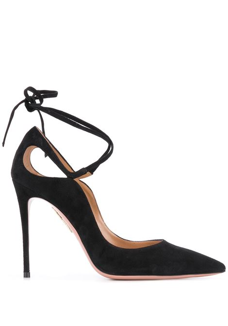Scarpa nera AQUAZZURA | PUMPS | RIAHIGP0SUE000