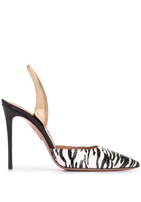 Sandalo zebrato AQUAZZURA | PUMPS | SNUHIGP0TNSBSG