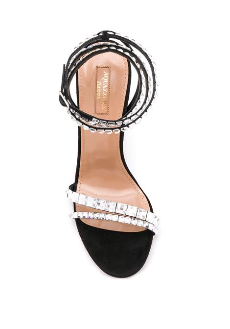 Black sandals AQUAZZURA |  | SOVHIGS0SUE000