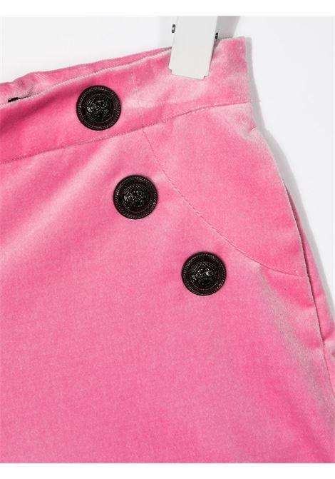 Pantaloncini rosa BALMAIN | SHORTS | 6N6129NE710516