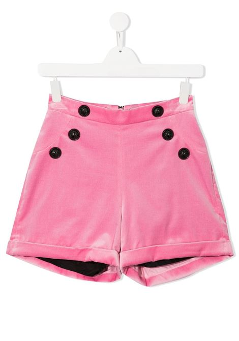 Pantaloncini rosa BALMAIN | BERMUDA | 6N6129TNE710516