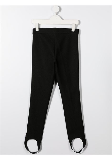 Leggings nero BALMAIN | LEGGINGS | 6N6720NF430930