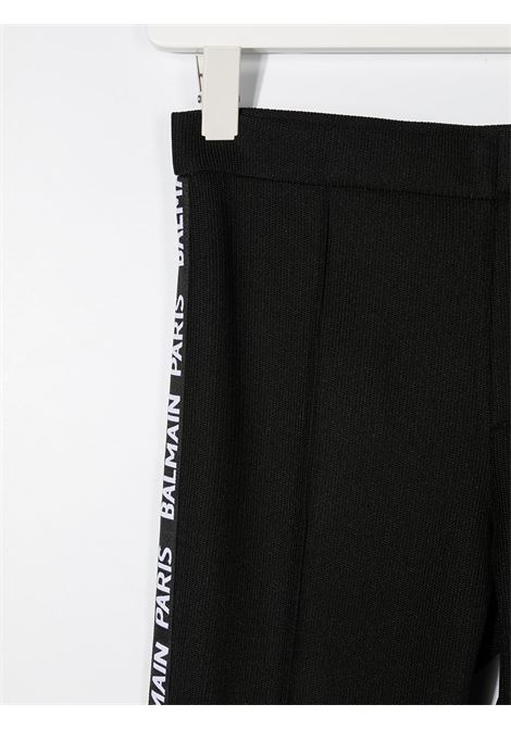 Leggings nero BALMAIN | LEGGINGS | 6N6720TNF430930