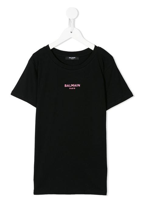 T-shirt nera BALMAIN | T-SHIRT | 6N8031NX310930RS