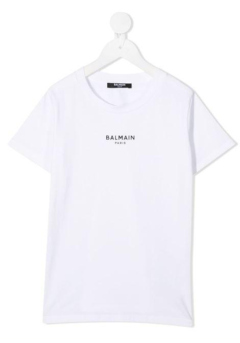 T-shirt bianca BALMAIN | T-SHIRT | 6N8541NX310100NE