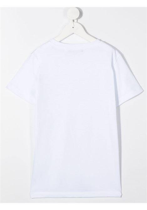 Maglia bianca BALMAIN | T-SHIRT | 6N8551NX290100AG