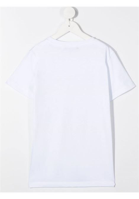 T-shirt bianca BALMAIN | T-SHIRT | 6N8551NX290100AG