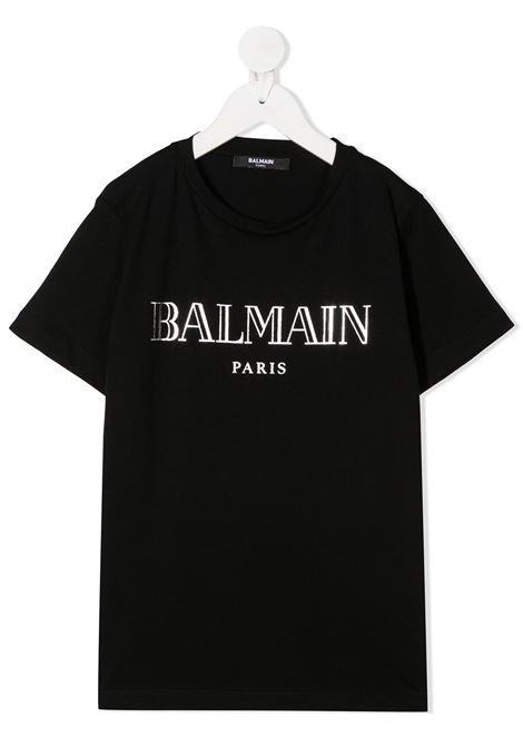 Maglia nera BALMAIN | T-SHIRT | 6N8551NX290930AG