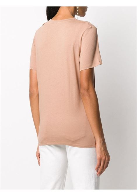 Light pink t-shirt BALMAIN |  | UF01350I5918KE