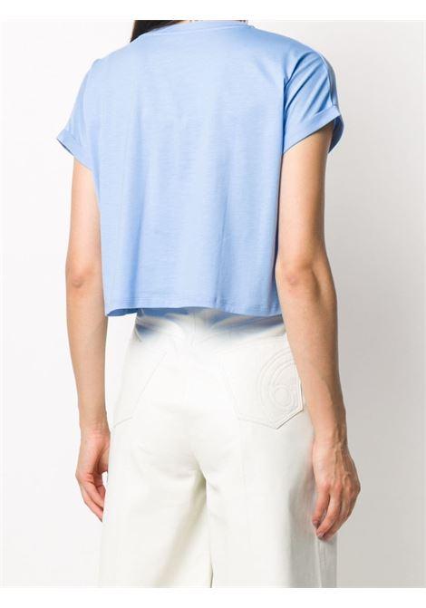 Blue t-shirt BALMAIN | T-SHIRT | UF11357I321SCQ