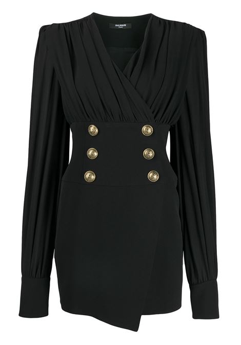 Black dress BALMAIN |  | UF16285V0890PA