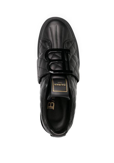 Sneakers nera BALMAIN | SNEAKERS | UN0C543LQSC0PA