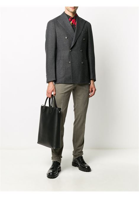 Gray jacket BARBA |  | 140102U0001