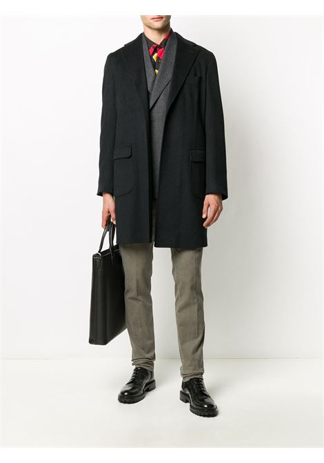 Black coat BARBA |  | 149208UCMANA0001