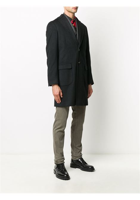 Cappotto nero BARBA | CAPPOTTI | 149208UCMANA0001