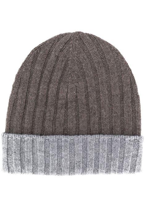 Brown/grey beanie BARBA |  | 15562135650039