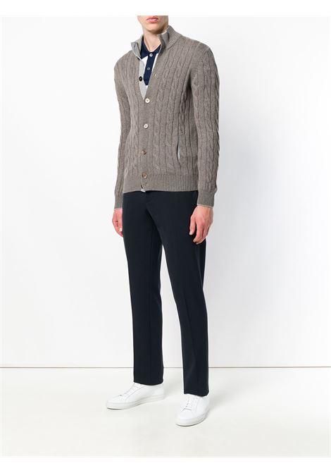 Cardigan grigio BARBA | CARDIGAN | 15572235380039