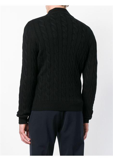 Black cardigan BARBA | CARDIGAN | 15572235380099