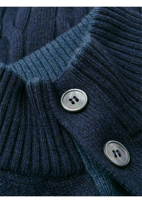 Cardigan blu BARBA | CARDIGAN | 15572235380589