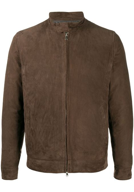 Brown jacket BARBA |  | BIKERLS600P0003