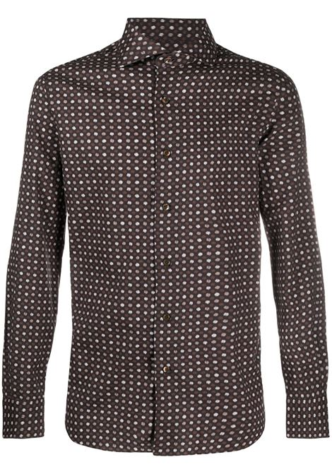Brown shirt BARBA |  | K1U13P01682001U