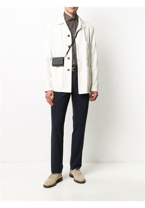 Brown shirt BARBA | SHIRTS | K1U13P01682001U