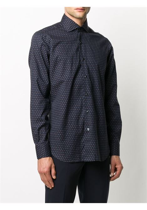 Blue shirt BARBA | SHIRTS | K1U13P01682003U