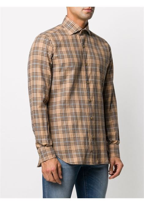 Beige shirt BARBA |  | K1U13P01683602U