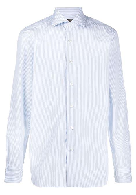 Camicia blu/bianca BARBA | CAMICIE | K1U13P01692203U