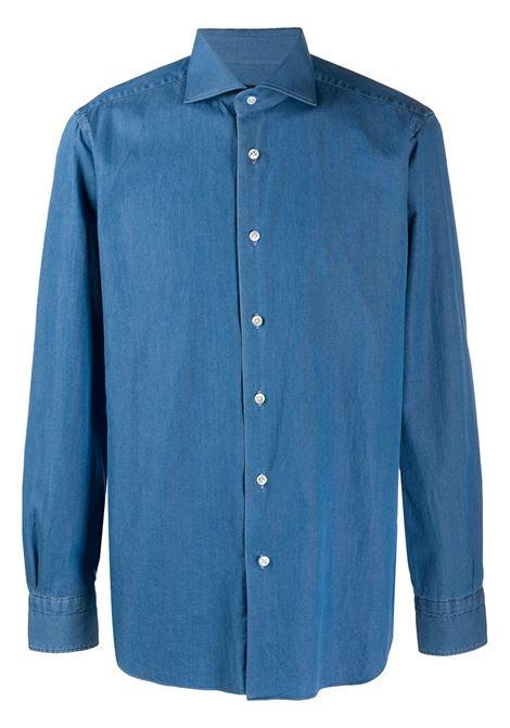 Blue shirt BARBA |  | K1U13P01694101U