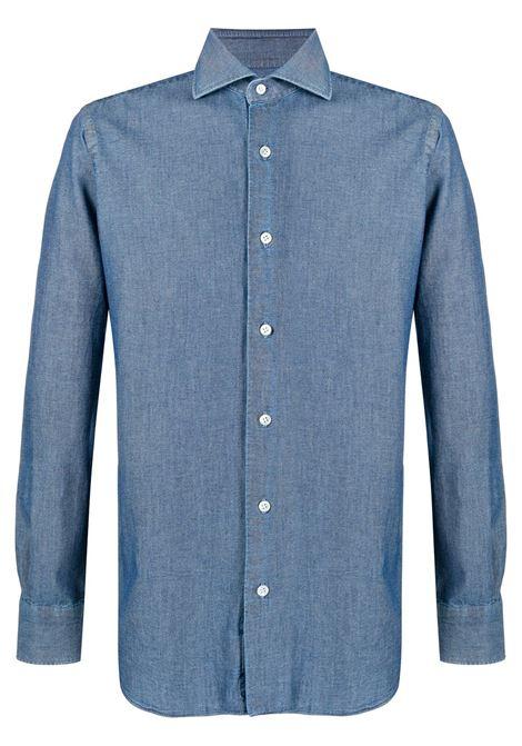 Blue shirt BARBA |  | K1U13P01694301U