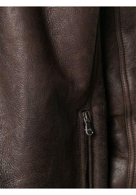 Brown jacket BARBA |  | REXMT7000003