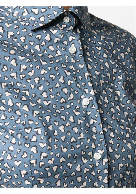 Camicia blu BARBA | CAMICIE | W1D31P01195607U