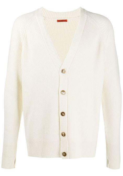 Cardigan bianco BARENA | MAGLIONE | KNU29580305500