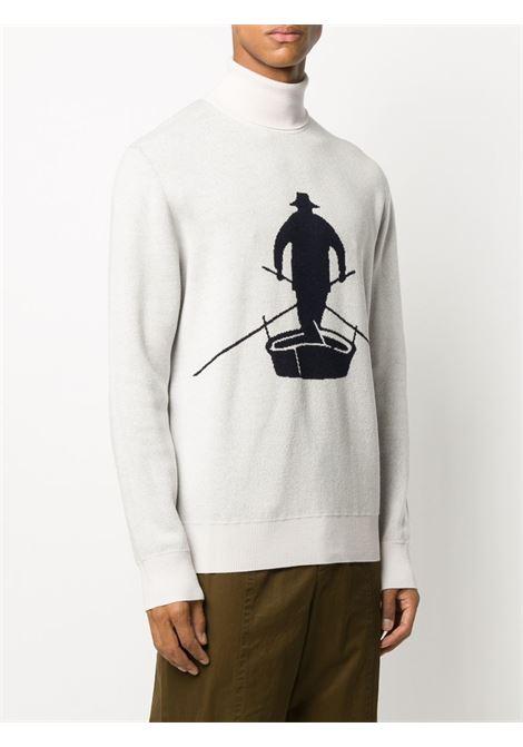 Maglione bianco BARENA | MAGLIONE | KNU29690387541