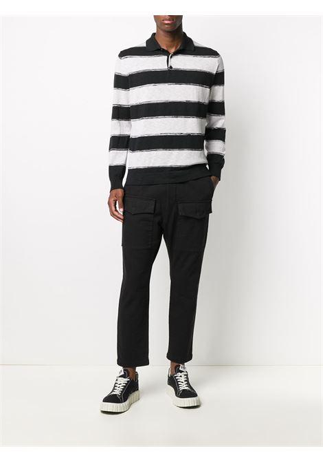 Pantalone nero BARENA | PANTALONI | PAU29472543590