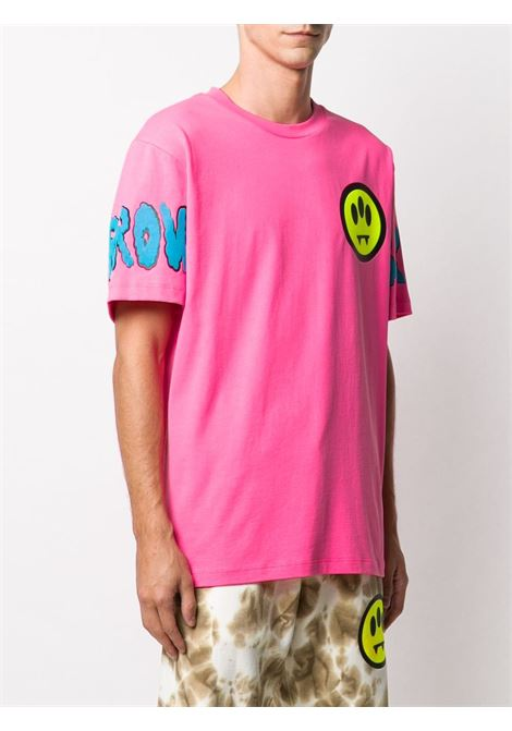 T-shirt rosa BARROW | T-SHIRT | 027993045