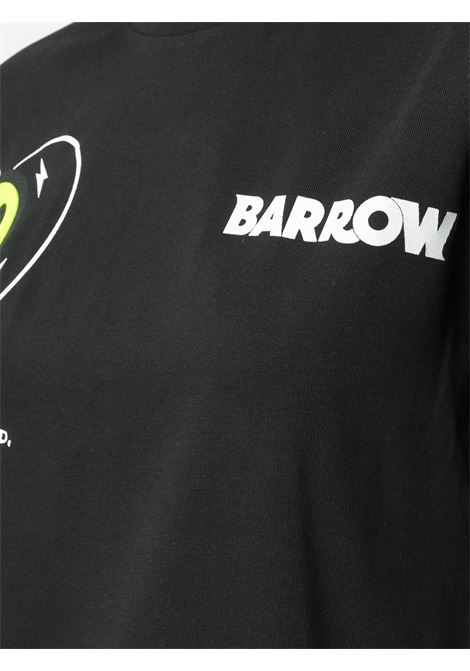 T-shirt nera BARROW | T-SHIRT | 028028110