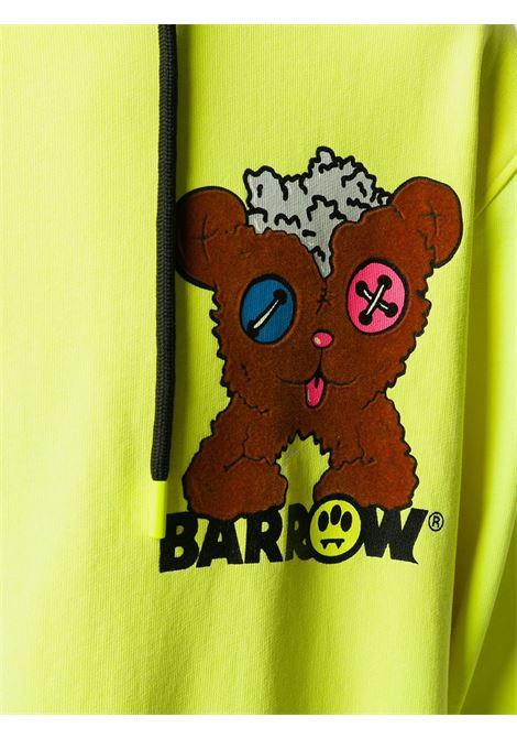 Felpa gialla BARROW | FELPE | 028042023