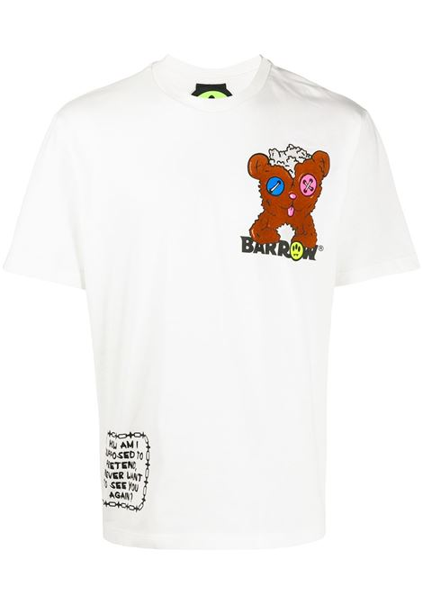 White t-shirt BARROW | T-SHIRT | 028043002