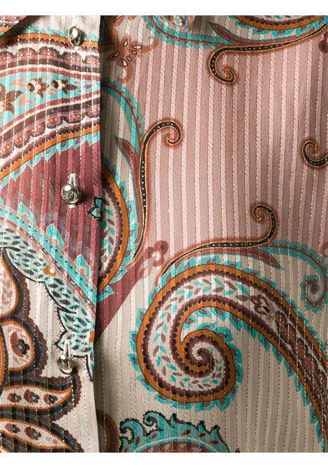 Camicia fantasia BLUMARINE | CAMICIE | 235062639