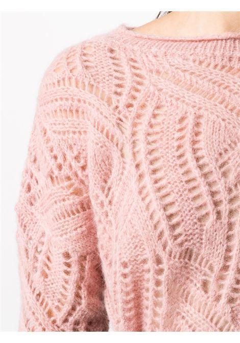 Maglia rosa BLUMARINE | MAGLIE | 23847146