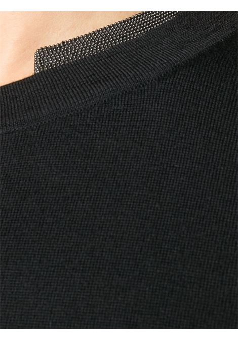 Black t-shirt BRUNELLO CUCINELLI | T-SHIRT | M14817900C101