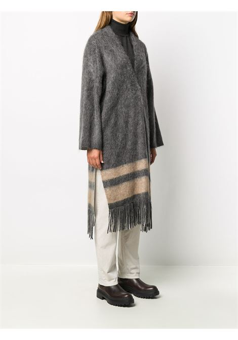 Grey coat BRUNELLO CUCINELLI | CARDIGAN | M2I182206CK814